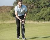 Джейми Дорнан отдыхает на гольф-поле