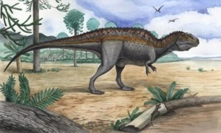 Динозавр Акрокантозавр