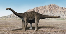 Динозавр Спинофорозавр