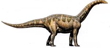 Динозавр Цетиозавр