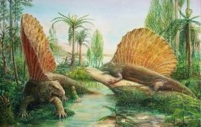 Динозавр Эдафозавр