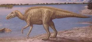 Динозавр Эдмонтозавр