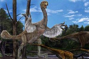 Динозавр Гигантораптор