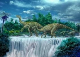 Динозавр Люфенгозавр