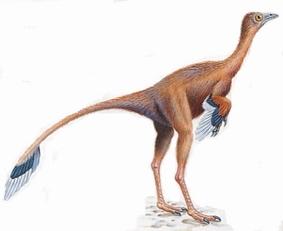 Динозавр Протархеоптерикс