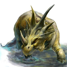 Динозавр Стиракозавр