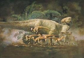 Динозавр Тенонтозавр
