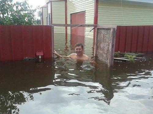 наводнение в Благовещенске