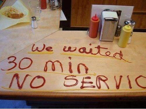 Плохой сервис