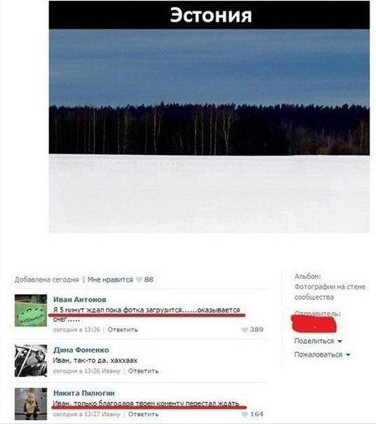 Эстонское фото