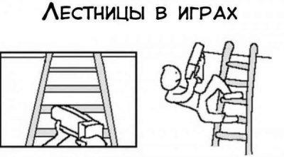 Лестницы в играх