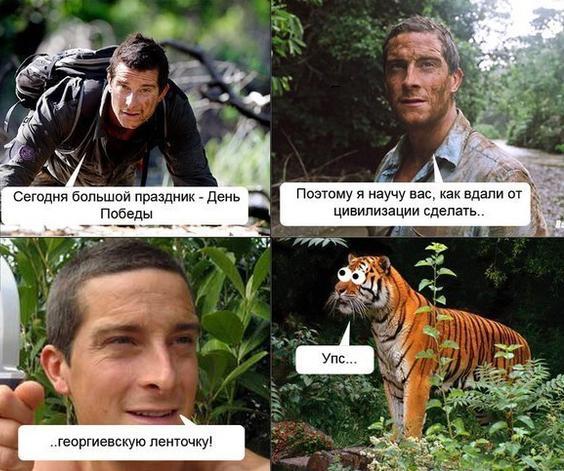 Георгиевксая ленточка