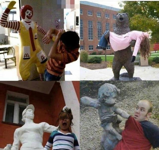 Правильные фотографии с памятниками