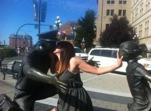 Правильное фото с памятником