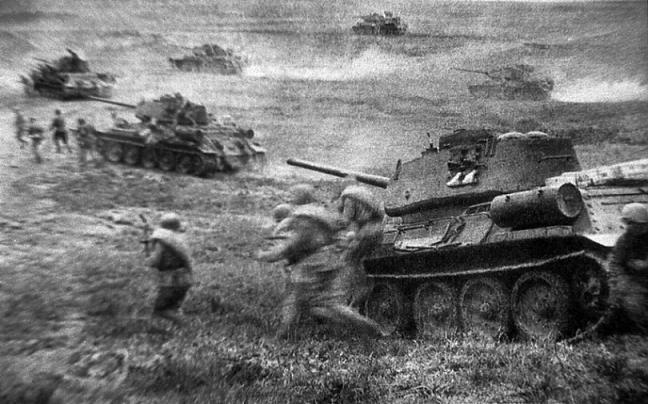 12 июля 1943 - Сражение под Прохоровкой
