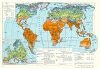 Агроклиматическая карта мира