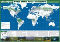 Нетронутые леса на карте мира