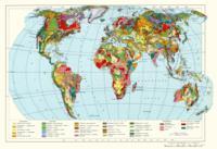 Геологическая карта мира