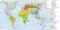 Карта языков мира