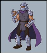 Черепашки ниндзя Шреддер (Shredder) или Ороку Саки (Oroku Saki)